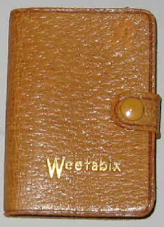 1950s weetabix promotional miniature dictionary