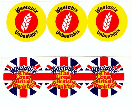 1980s Weetabix Badge sheets (1)