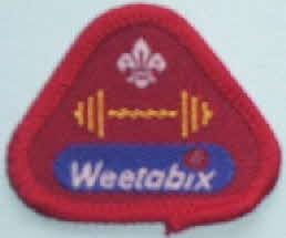 Weetabix Cubs Health & Fitness badge
