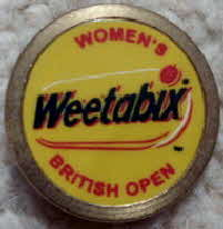 Weetabix Golf open ball marker
