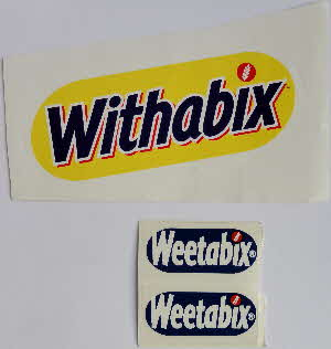 Weetabix Promotional stickers