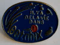 Weetabix french pin badge