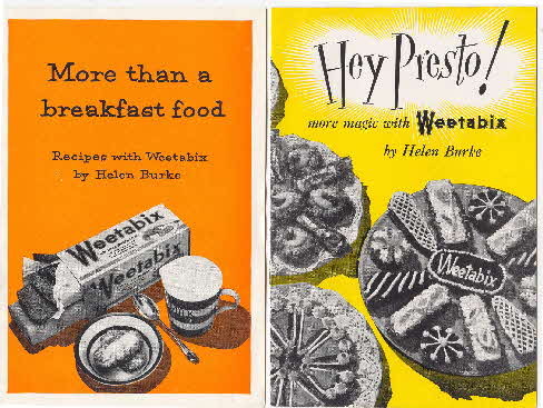 1950s Weetabix recipe booklet 2