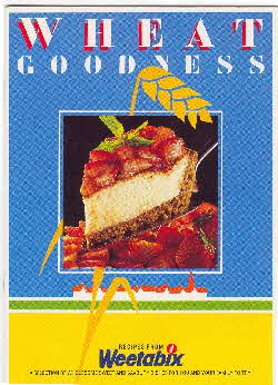 1990s Weetabix recipe booklet