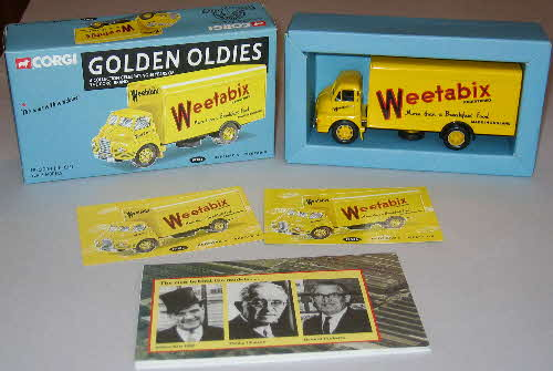 Weetabix Corgi Golden Oldies Bedford S Lorry - Limited edition