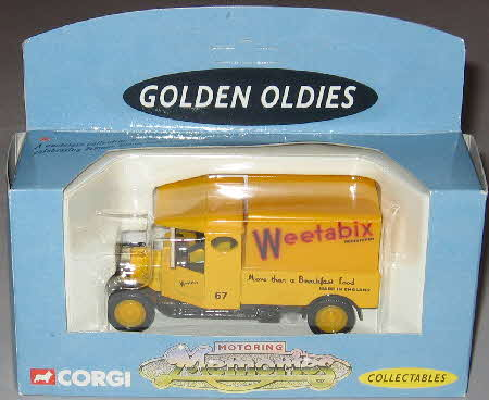 Weetabix Corgi Motoring Memories Leyland Rigid Back Lorry