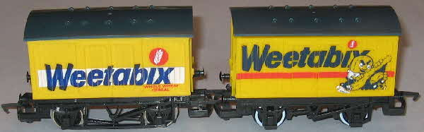 Weetabix Hornby 00 gauge railway Ventilated Box Van