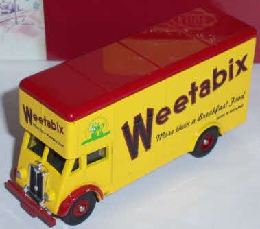Weetabix Lledo Trackside Guy Pantechnicon Lorry (betr)