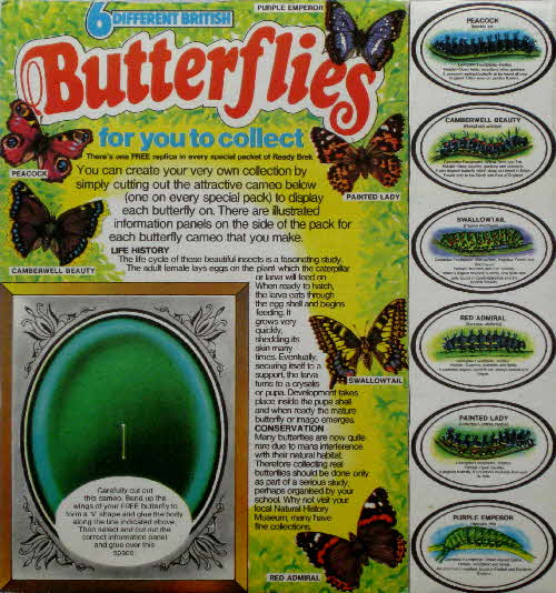 1975 Ready Brek Butterfly Collection