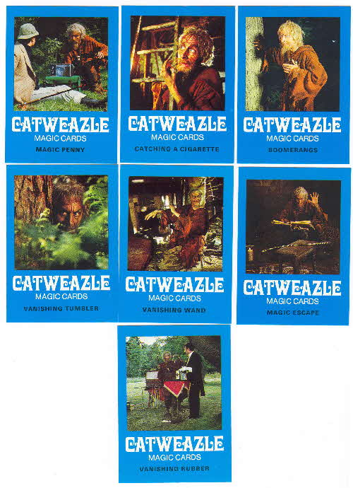 1970s Ready Brek Gatweazle Magic Cards 2