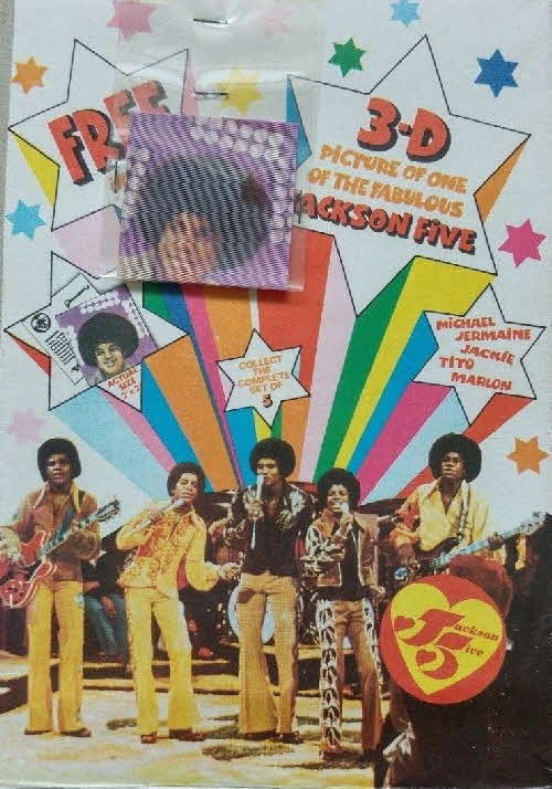 1975 Ready Brek Jackson 5 packet 2