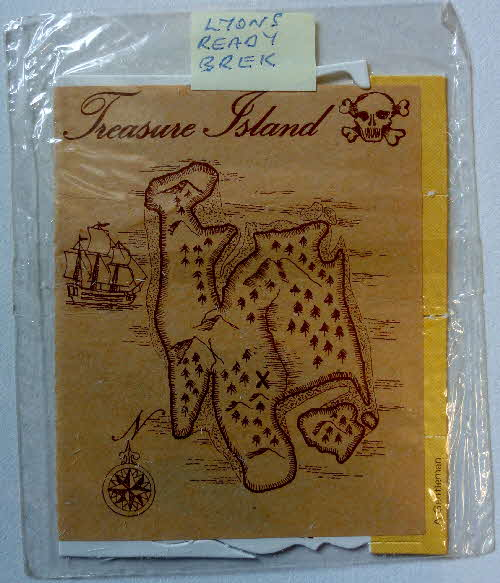 1975 Ready Brek Treasure Island Cards and script (1)