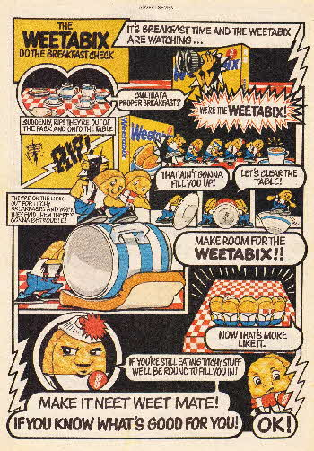 1982 Weetabix Do the Breakfast Check1