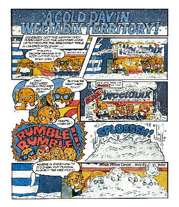 1983 Weetabix A Cold Day in Weetabix Territory