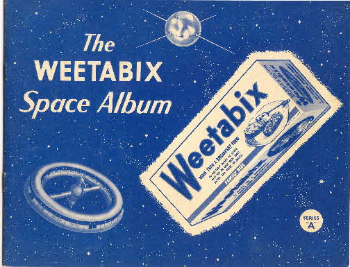 1958 Weetabix Conquest of Space Series A album