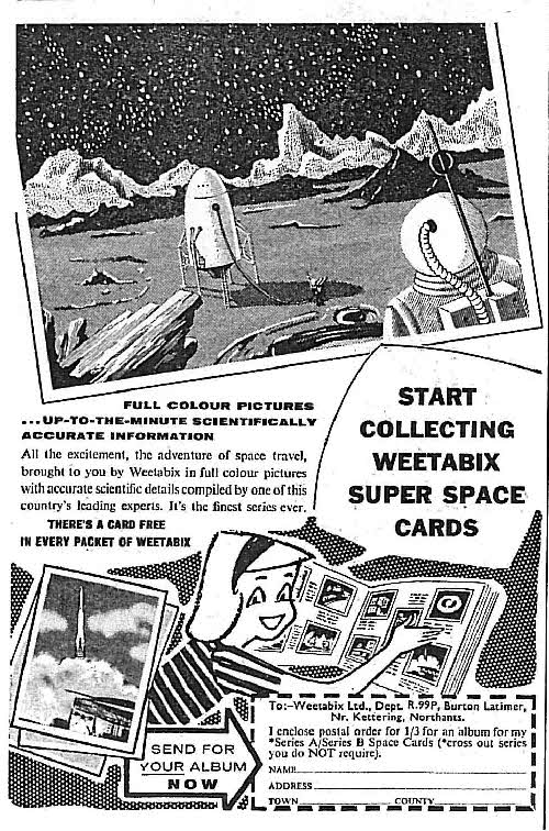 1958 Weetabix Conquest of Space