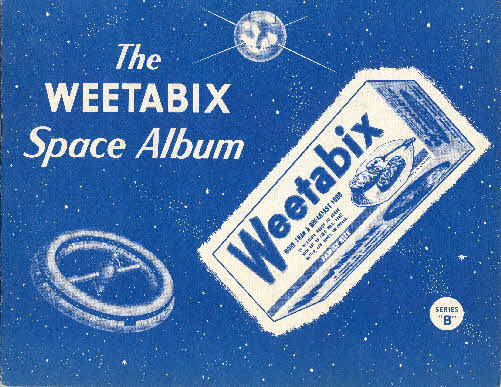 1959 Weetabix Conquest of Space Series B album