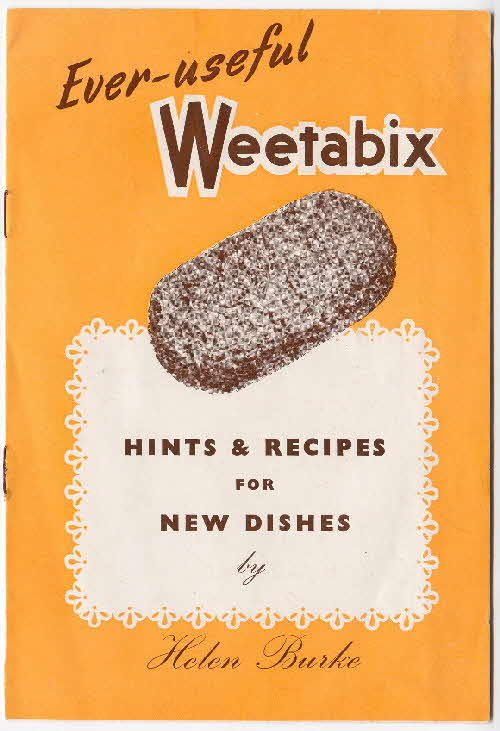 1950s Weetabix recipe booklet 5