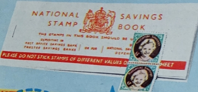 1956 Weetabix 2 x 6D National Savings Stamps1 small