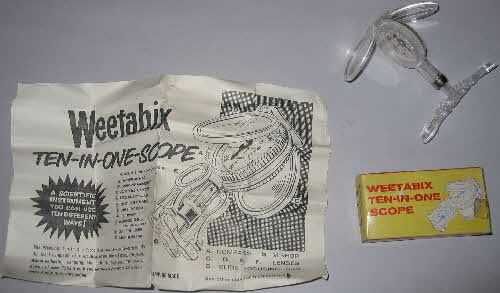 1962 Weetabix 10 in 1 Scope