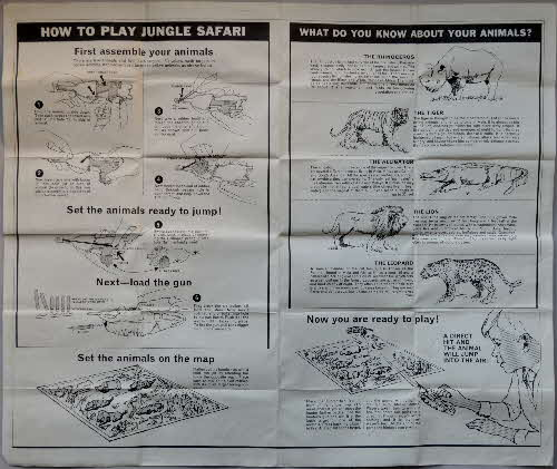 1966 Weetabix Jungle Safari game set (2)