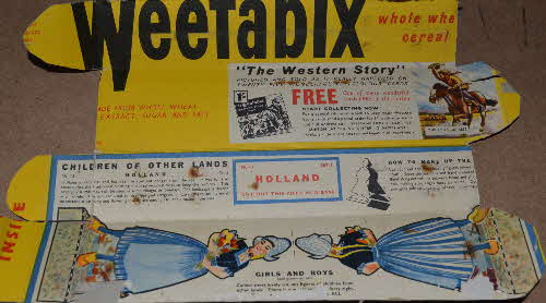 1960 Weetabix Children of Other Lands & Western Story - Set 3 Book of Birds (1)