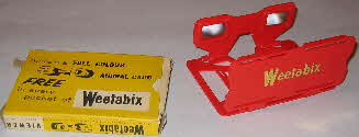 1960 Weetabix 3D viewer Red