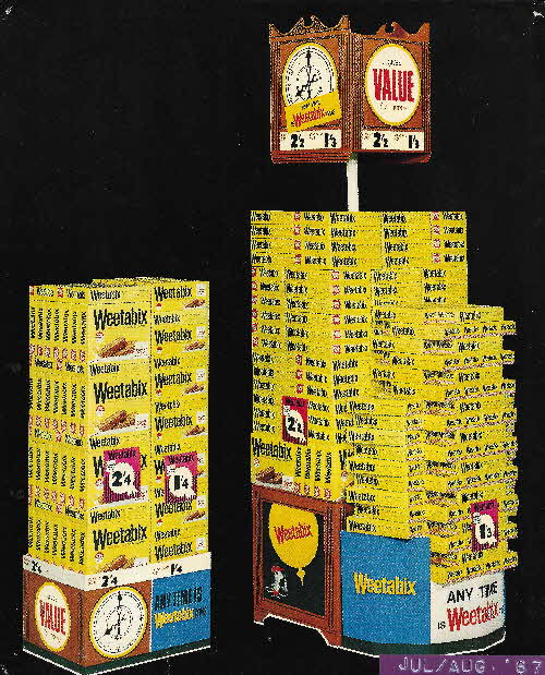 1967 Weetabix Its About Time