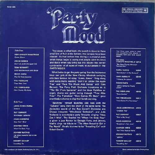 1967 Weetabix Party Mood Album 2
