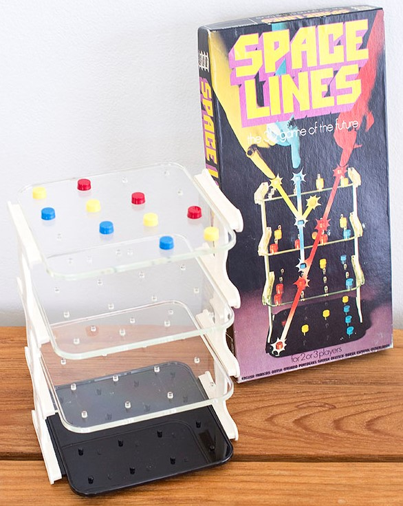 1971 Wetabix 3D Space Lines Game made