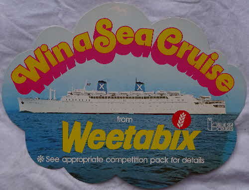 1970s Weetabix Win a Sea Cruise Shop Display (1)