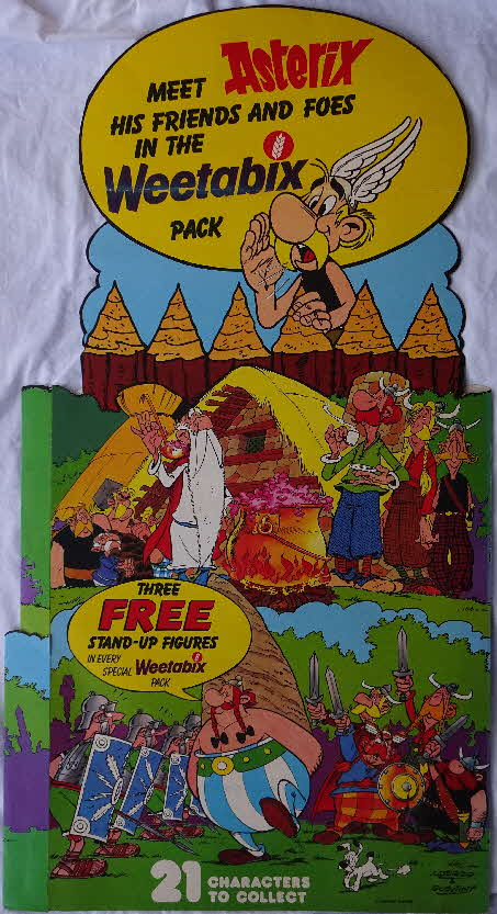 1975 Weetabix Asterix Friends and Foes Shop Display (2)