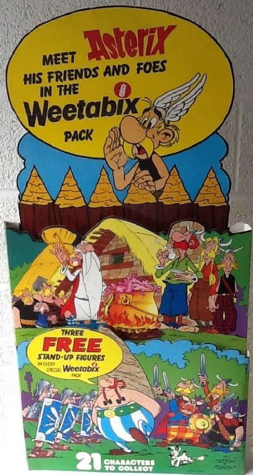 1975 Weetabix Asterix Friends and Foes Shop Display 2 (1)
