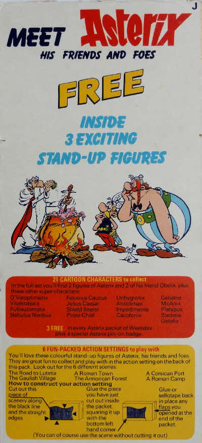 1976 Weetabix Asterix His Friends & Foes (2)