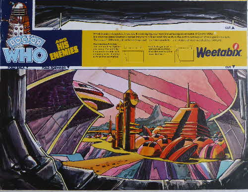 1975 Weetabix Dr Who & Enemies City (2)