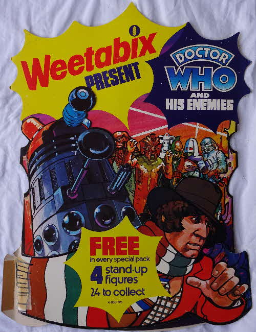 1975 Weetabix Dr Who & His Enemies Shop Display (1)1