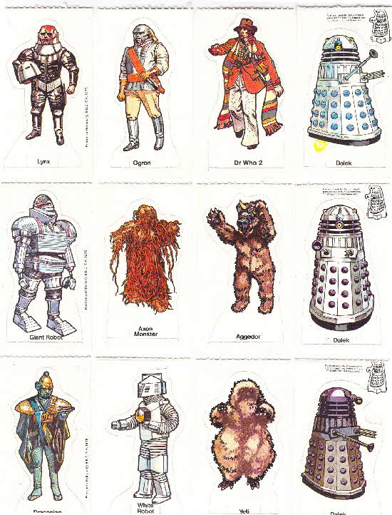 1975 Weetabix Dr Who & his Enemies 2