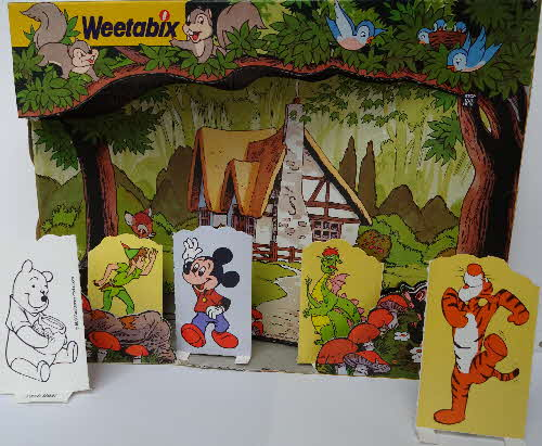 1978 Weetabix Mickey Mouse Playmates made (1)