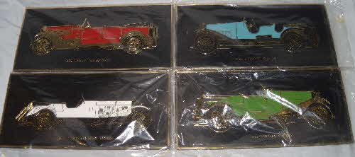 1970s Weetabix Wall Plaques Vintage Cars