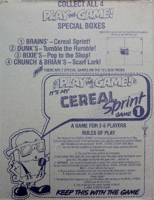1983 Weetabix Board games No 1 Cereal Sprint (1)
