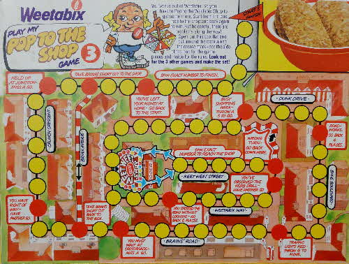 1983 Weetabix Board games No 3 Pop to the Shop (2)