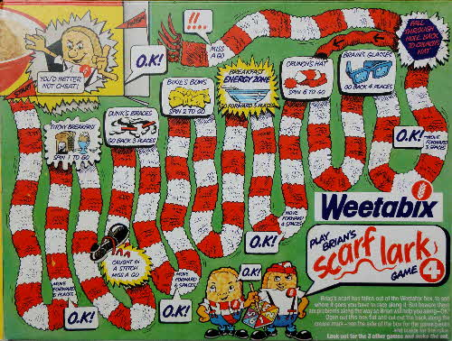 1983 Weetabix Board games No 4 Scarf Lark (2)