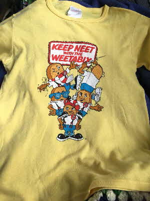 1984 Weetabix Camera & T Shirt