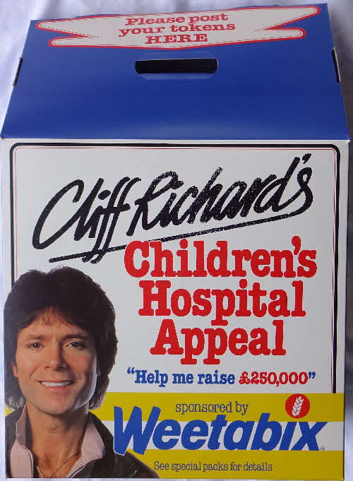 1982 Weetabix Cliff Richard Childrens Hospital Appeal Show Posters (3)