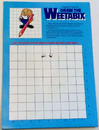 1984 Weetabix Colouring kit & pencils set  (4)