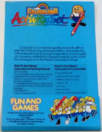 1984 Weetabix Colouring kit & pencils set  (5)