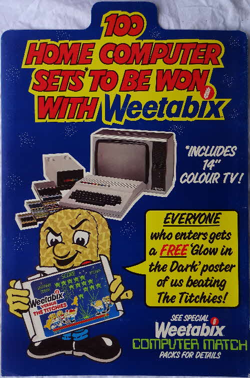 1984 Weetabix Homer PC Weetagang Shop Poster
