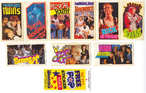 1983 Weetabix Pop Stickers1