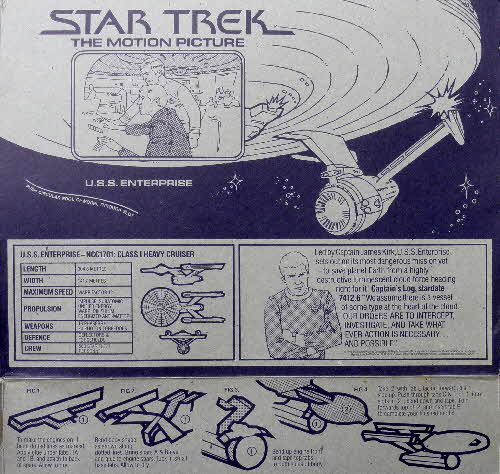 1980 Weetabix Star Trek Action Cards (4)