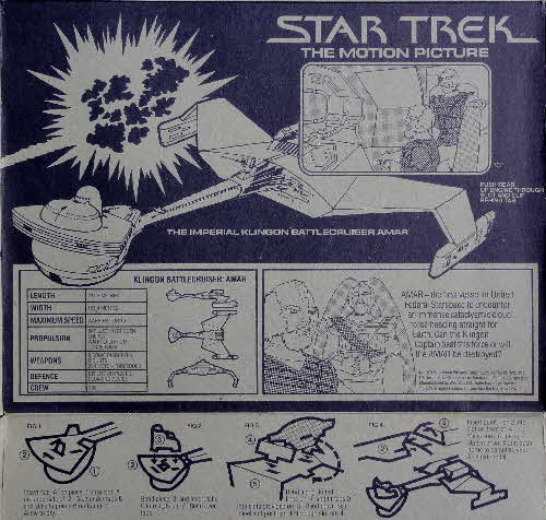 1980 Weetabix Star Trek Action Cards USS Enterprise Bridge (4)